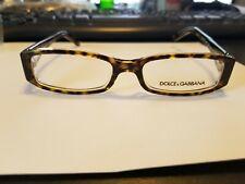 NEW D&G Eyeglasses DD1179 556 Havana On Transparent 51MM/16/135 PERFECT