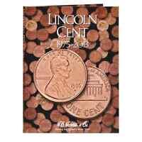 H.E. Harris Lincoln Cents Coin Folder 1975-2013 #2674