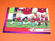 198 EQUIPE TEAM PART 3 DANMARK FOOTBALL PANINI UEFA EURO 2012