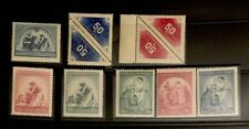 Czech 1930s 8 MNH/HOG XF Great Collection Y9/14