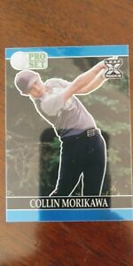 Collin Morikawa 2021 Leaf Pro Set Metal Golf PRISMATIC BLUE 12/60 Rookie RC PGA