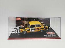 1/43 Seat 124Ds 1800 #12 Rallye Monte Carlo 1977 Zanini Petisco 3e Ixo Altaya 25