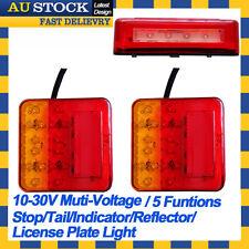 2X 12V 24V LED TAIL LIGHT 5 FUNCTIONS FOR TRAILER UTE CARAVAN BOAT TRUCK