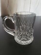 Crystal Glass Cups Mugs Ornate and Beautiful glass glassware
