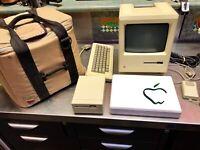 Super Rare Mint 1st Apple Macintosh 128kb Computer M0001 June1984 Photos 50 QZZQ