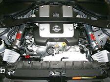 TAKEDA AIR INTAKE SYSTEM POLISHED FOR 2009-2014 NISSAN 370Z 3.7L V6 COUPE