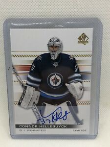 2019-20 SP Authentic Limited Auto Connor Hellebuyck