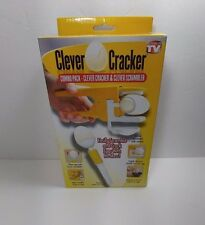 Clever Cracker & Clever Scrambler Combo Pack Cracks Eggs & Separates Egg Whites