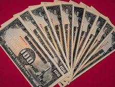 100 Pesos 1944 Unc/VF - WW-2 Japanese Occupation Banknote - Great Birthday Gift