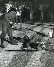 UNKNOWN MOVIE WW2 GERMAN AMERICAN SOLDIER VINTAGE PHOTO ORIGINAL