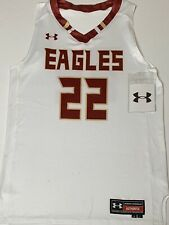 Under Armour Boston College Eagles Men's NCAA Basketball Jersey L Sample #22 NWT