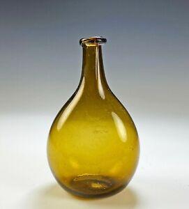 Antique New England Chestnut Flask Bottle #4