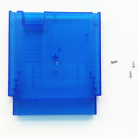 NES Case Cartridge Shell Replacement Nintendo Entertainment System - Clear Blue