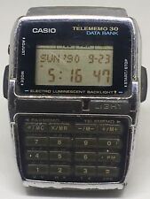 Casio Telememo 30 Data Bank Watch 1253 DBC-300