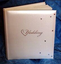 Fleur De Lys Wedding Photograph Album Heart Design Keepsake #1