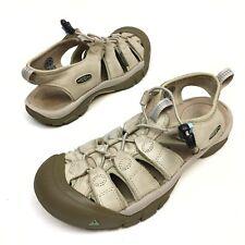 KEEN  Women's Sport Sandals Beige Walking Shoes Sz 8.3 Eu39 Waterproof