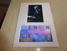 John Muir Yosemite National Park photograph and 2016 USA Cover mount size A4