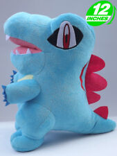 "12"" Pokemon Totodile Plush Doll Anime Stuffed Christmas Gift Pnpl8099"