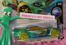 Case F 2016 Hot Wheels BULLET PROOF #15✰Trans Green;Orange oh5 yellow✰X-Raycer