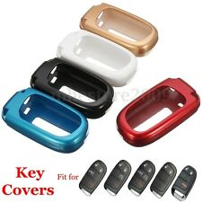 ABS Paint Metallic Color Remote Key Case Cover Holder For Dodge Chrysler Jeep