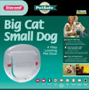 Staywell Deluxe Manual 4-way Locking Cat Flap