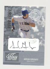 2005 Leaf Century Signature Post Mark Silver Adrian Gonzalez /250 AUTO Autograph