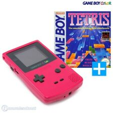 Nintendo GameBoy Color - Konsole #Rosa/Pink/Red/Berry + Tetris