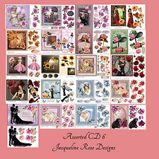 Decoupage Cardmaking CD6 Assorted