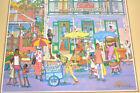 Vintage MCM Jill Walker Art Caribbean Marketplace Coca Cola Barbados POC