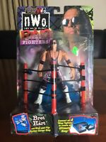 WCW NWO Bret The Hitman Hart Ring Fighters Action Figure - WWE WWF - 1999