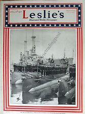 Leslie's Illustrated Weekly Newspaper/Magazine April 5, 1917 News/Photos/Ads