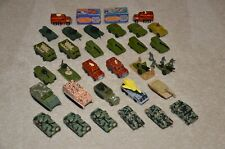 Matchbox Military 31 Vehicle LOT w/Case - Excellent Condition - Premiere Edition