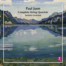 Paul Juon / Sarastro - Complete String Quartets [New CD]