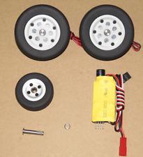 JP Parts 50mm Brake Wheel Set B for RC Fixed Wing Model Plane Axle diameter 4MM