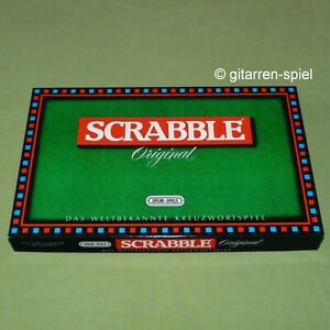 Unbespielt wie Neu! Scrabble Original Das weltbekannte Kreuzwortspiel von Spear