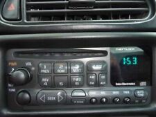 Audio Equipment Radio Am-fm-stereo-cd Player Opt UN0 Fits 97-04 C5 CORVETTE