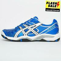 Asics Gel Challenger 9 Men's Premium Tennis Shoes Court Trainers Blue