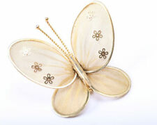Unbranded Gold Vintage Costume Jewellery Butterflies/Insects