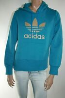 ADIDAS FELPA DONNA CON CAPPUCCIO Tg. 46 WOMAN HOODED SWEATSHIRT CASUAL A2759