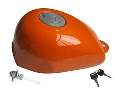 Honda Skyteam Monkey Tank orange  komplett mit großen  Tankdeckel