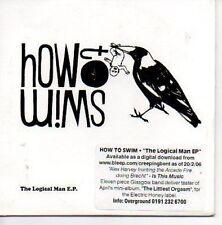 (O324) How to Swim, The Logical Man EP - DJ CD