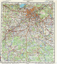Russian Soviet Military Topographic Maps – BELARUS, 1:200 000, ed.1967-1991