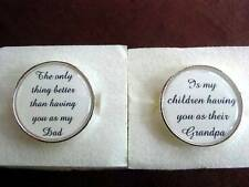 Wedding Gift Father Of The Bride The Only Thing Better Cuff Links Cuff-links