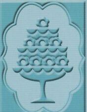 Cuttlebug Carpeta de grabación en relieve Princesa-Pastel reducido