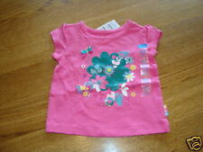 The Children's Place girls 24 month pink Tee T shirt Nwt ^