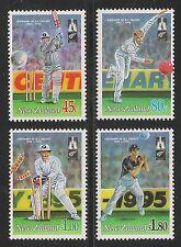 New Zealand #1244-1247 (SG #1850-1853) VF MNH - 1994 Cricket In New Zealand