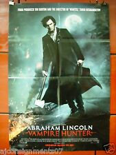 Abraham Lincoln : Vampire Hunter Original Int. Style C Folded Movie Poster 2012