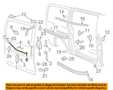 GM OEM Side Sliding Door-Control Rod 15838633