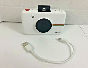 Polaroid Snap Touch Camera Instant Print Digital Camera - White With Cable