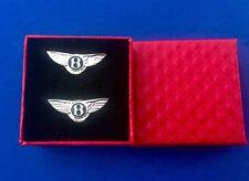 Bentley Cufflinks Bentley Cuff link Gift Set Auto Bentley Tie Bar Tie Clip New